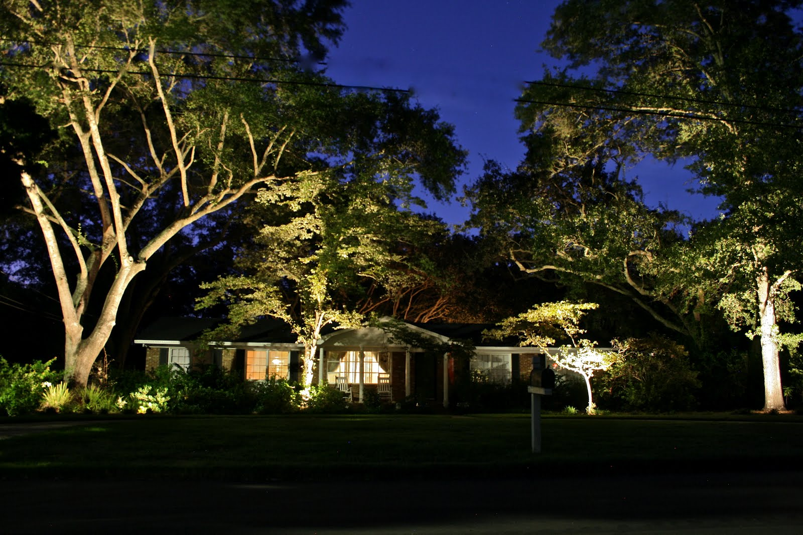 Carolina Landscape Lighting LED Or Incandescent Landscape Lights