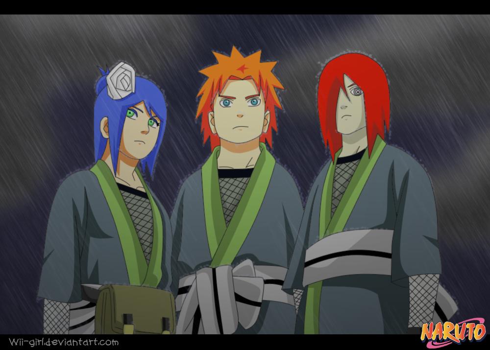 all about naruto jiraya team