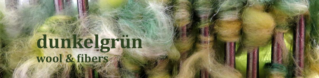 Dunkelgrün Wool&Fibers