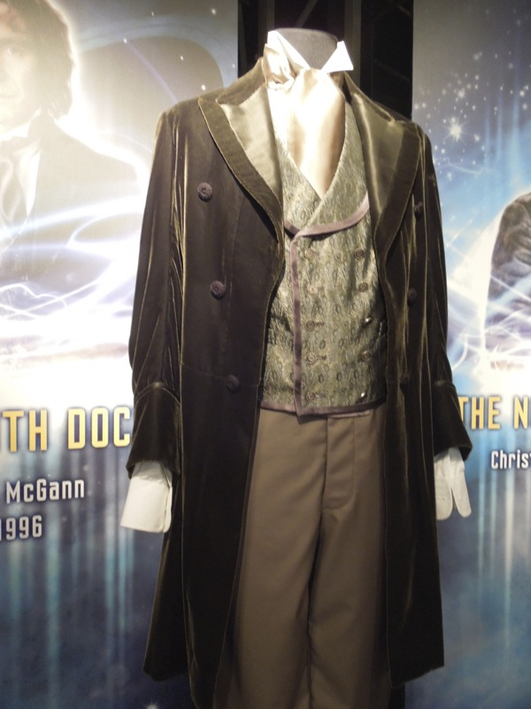 Hollywood Movie Costumes And Props Fifth Through Eighth Doctor Costumes From Doctor Who On