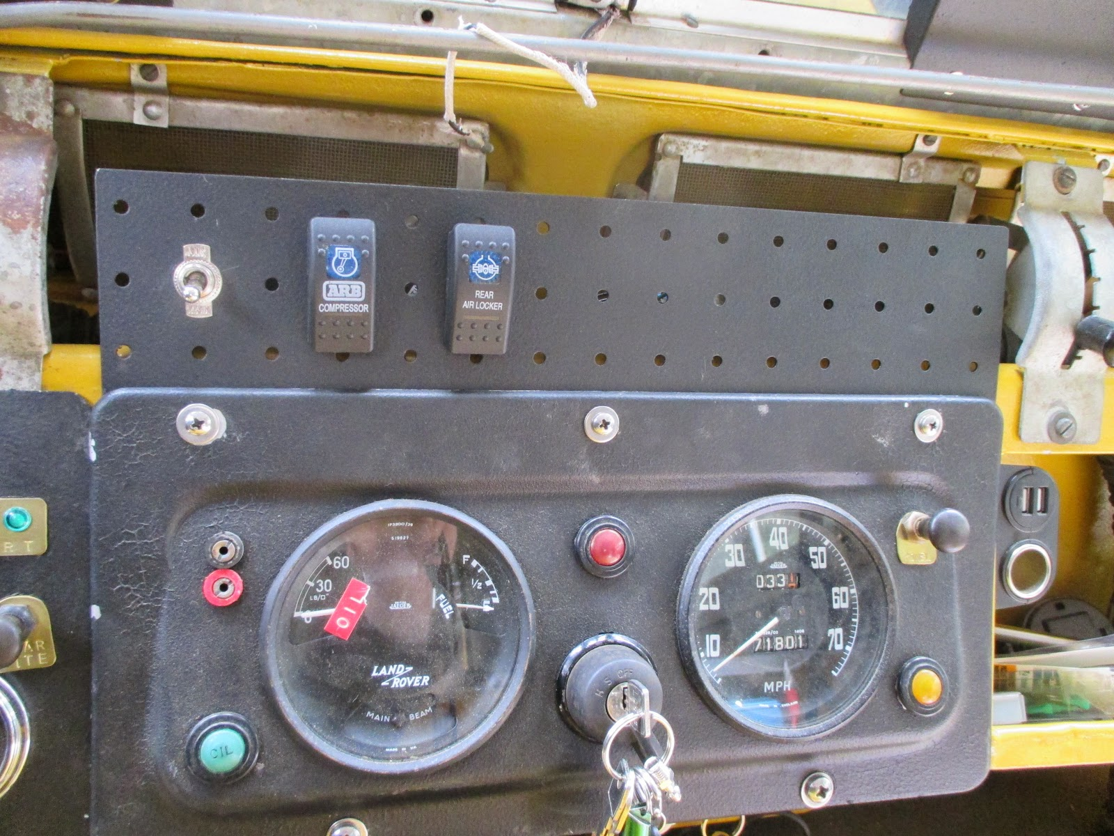 Genocache Arb Locker Air Compressor Installed Land Rover 109 Wiring Harness Diagram The And Hooking Up Switches Once Battery Was I Could Check For Function It Appears To Be Working As Intended Even