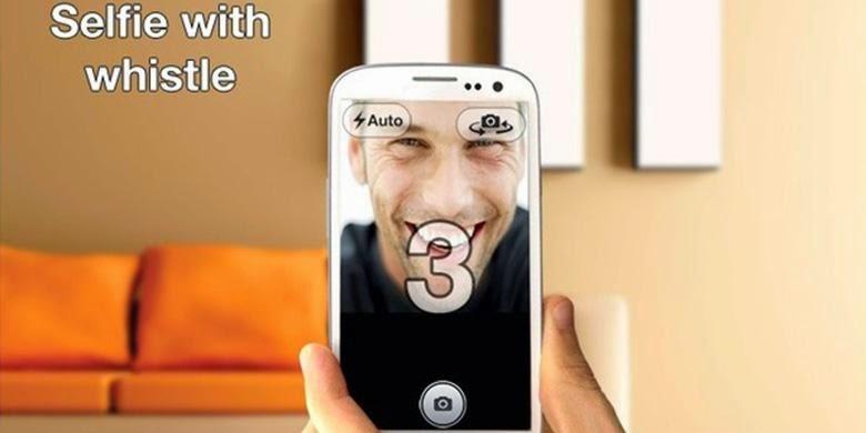 Keren Apps Android Photo Selfie Hanya Dengan Siulan