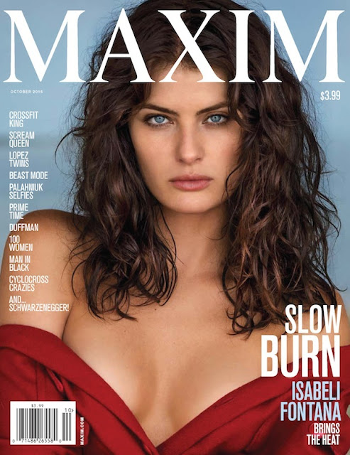 Fashion Model @ Isabeli Fontana - Maxim Magazine, October 2015