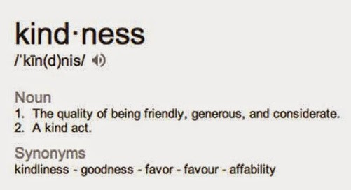 What does it mean to be kind hearted