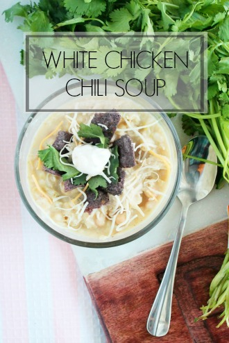 White Chicken Chili Soup