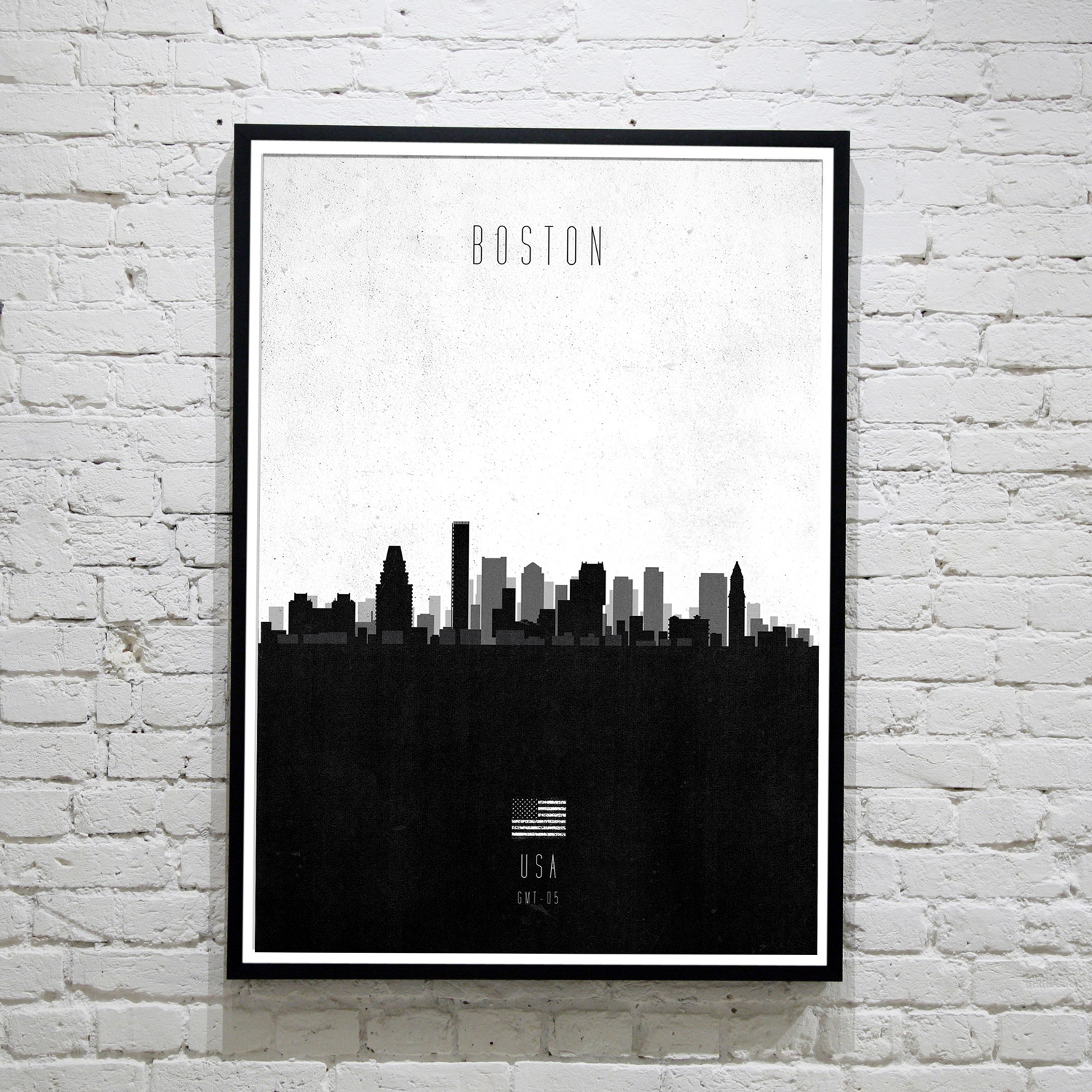 Boston. Contemporary Cityscape