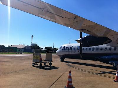 Aeronave ATR da Azul