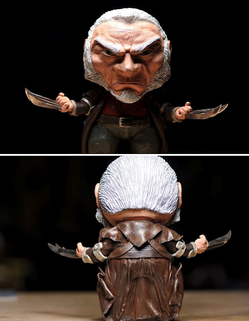 Old Man Logan Custom Wolverine Munny Vinyl Figure by David Kraig