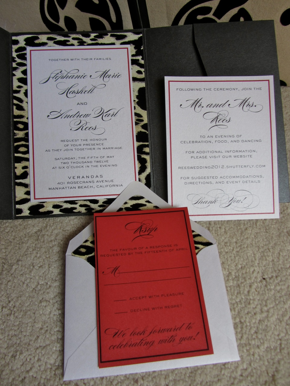2 Hearts B 1 Designs: Feathers, Leopard Print, Red Carpet....Oh My!