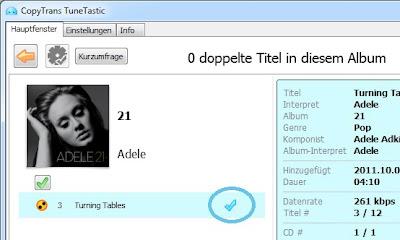 duplikat löschen iTunes