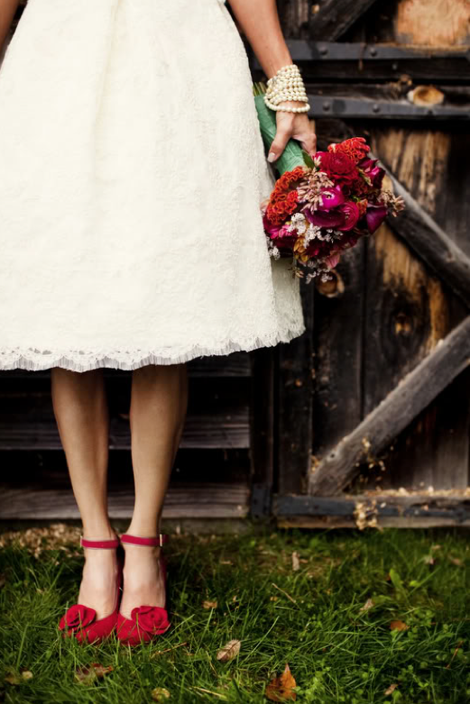 Memorable wedding red wedding shoes for the wedding for Heels for wedding dress