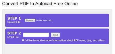 Convert PDF Autocad Online