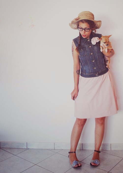 outfit, mint&berry,pimkie,oviè,vintage,summertime, sadness, cute'n'roll, chihuahua,marilyn