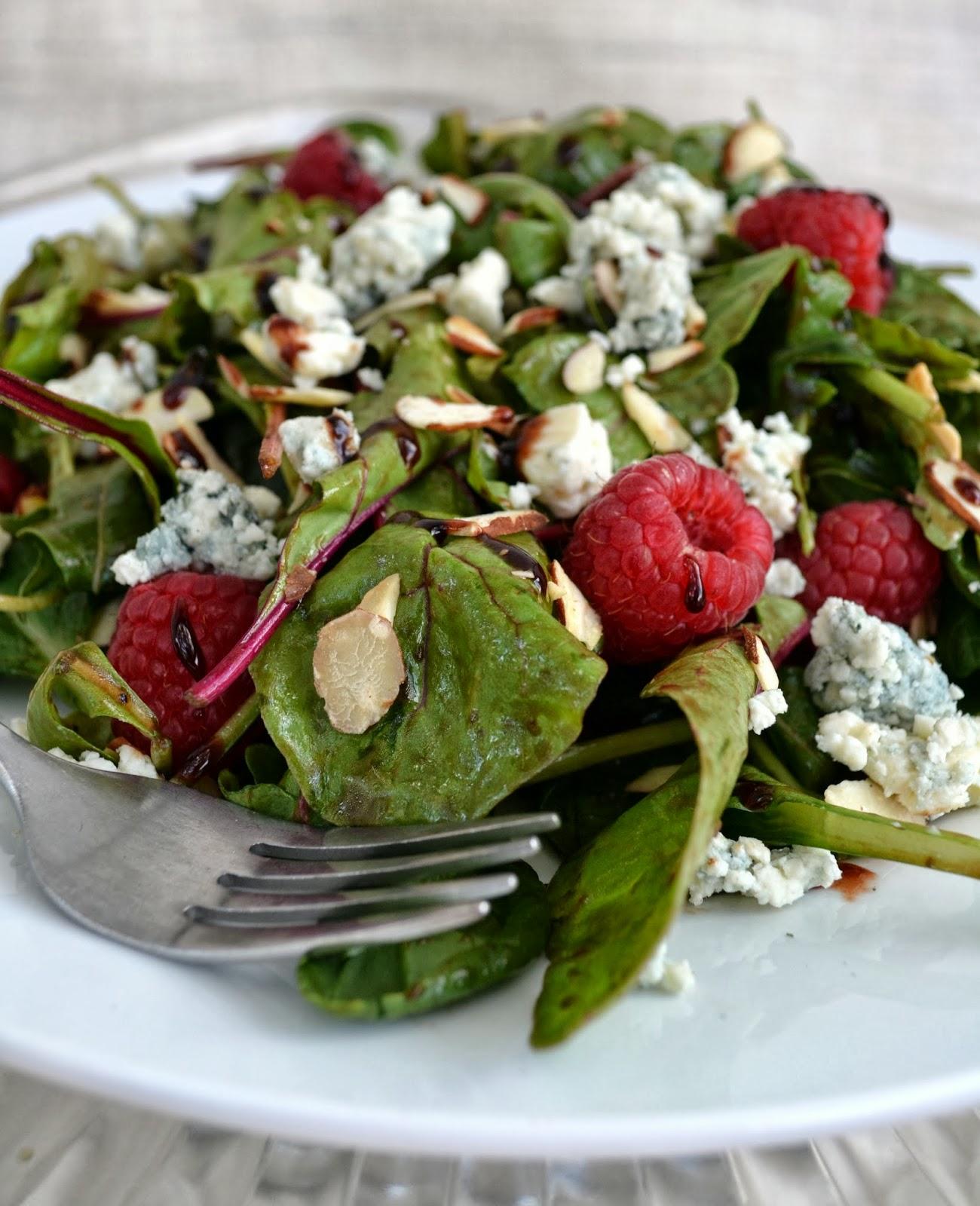 Jennuine by rook no 17 recipe homemade raspberry balsamic vinegar salad a heart healthy - Homemade vinegar recipes ...