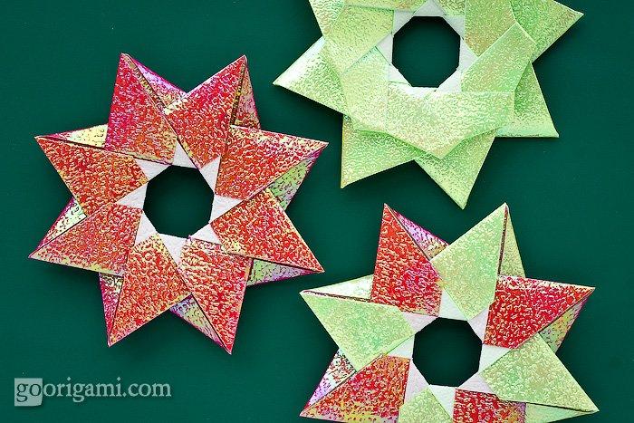 Robin Star Modular Origami Diagrams Block And Schematic Diagrams