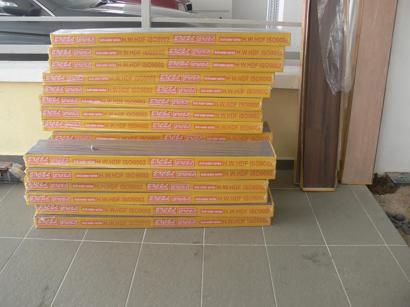 Mama Aliaa Kak Ya Akhirnya Tercapai Hajat For Laminated Flooring