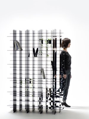Scatter Shelf, Estudio Nendo, 2011