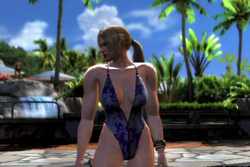 Nina Williams Bikini Swimsuit