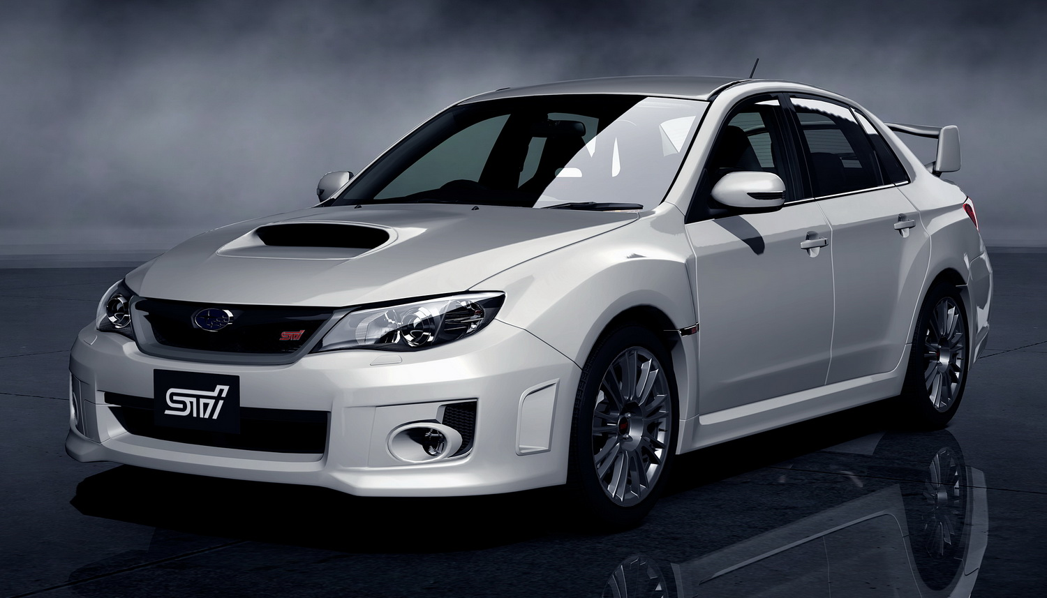 the new subaru wrx sti sedan will debut in gran turismo 5. Black Bedroom Furniture Sets. Home Design Ideas