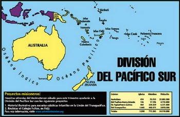 Informe Misionero Mundial   1er Trimestre 2013   Division del Pacifico