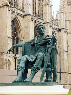 constantine and christianity as the state religion In the fourth century christianity was moved from being a persecuted minority of the population to the official state religion of the roman empire explain using references, how did this transition take place.