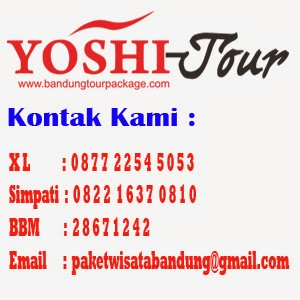 Paket wisata Bandung dan Rental Mobil Bandung
