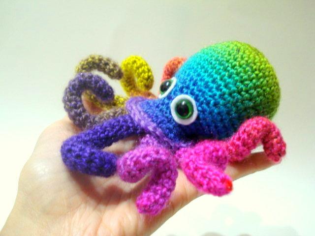 Free Amigurumi Patterns Octopus : Allsocute amigurumis amigurumi octopus pattern crocheted