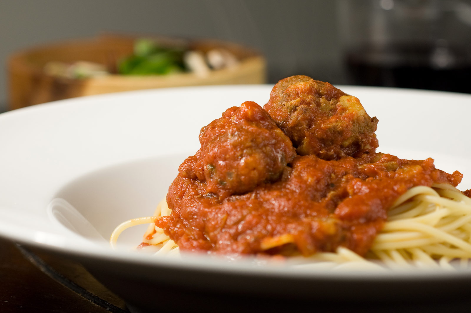 HungrySher: Spaghetti and Meatballs