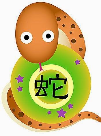 Zodiaco Chino para niños signo de la Serpiente