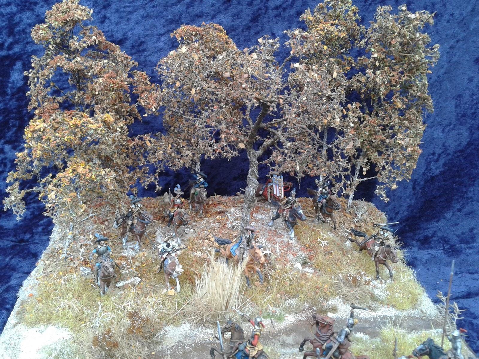 """Michels Miniaturen: """"Michael von Obentraut"""" Diorama fertig..."""
