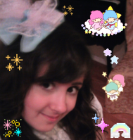 pizza-kei cute pizza kei kawaii culture purikura tutorial how to make little twin stars breaking bad walter white pastel fairy kei fairy-kei lolita