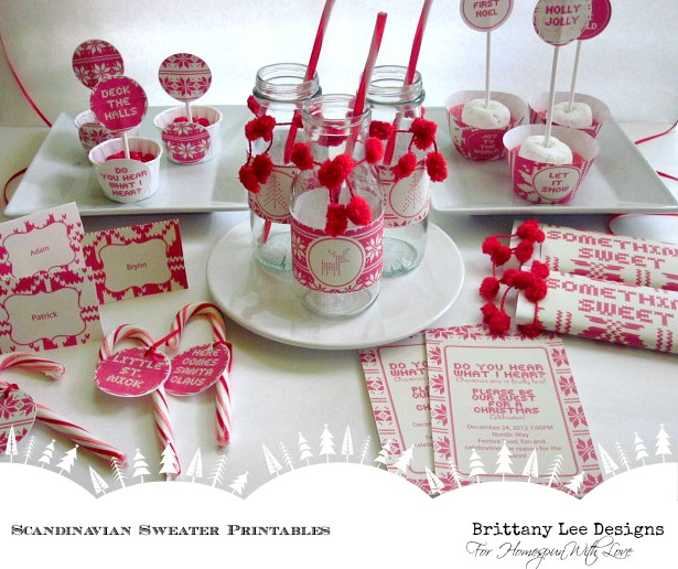 Exceptional Christian Christmas Party Ideas Part - 7: This Party Printables Suite Has All You Will Need To Put Together A Christmas  Party In No Time. We Have Put Together Some Ideas For You, ...