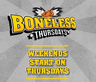 buffalo wild wings boneless wing night