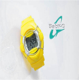 CASIO BABYG BGA887 YELLOW