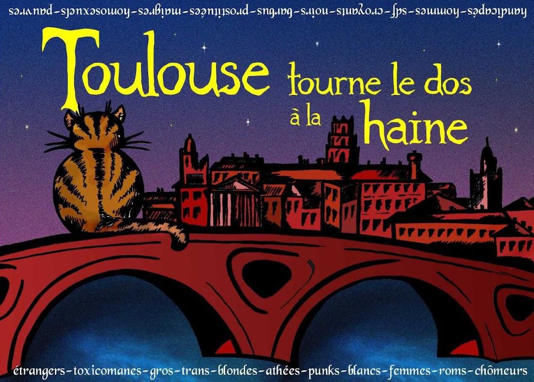 Toulouse tourne le dos à la haine