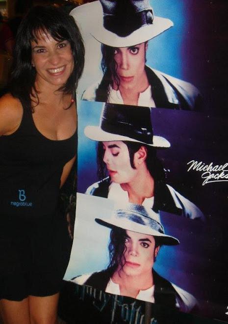 Célia Porto e Michael Jackson