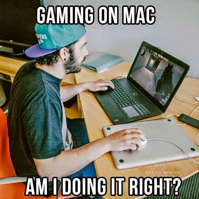 Video gaming on a Macintosh, doing it right!