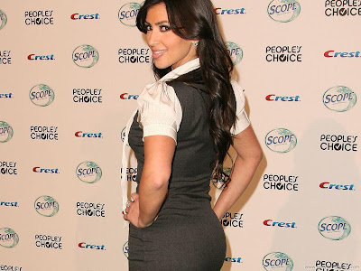 Kim Kardashian Wide Screen Glamour Photo Shoot