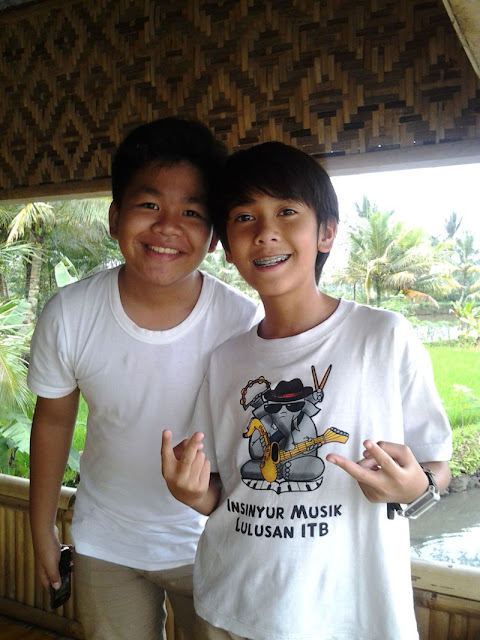 Wallpaper Foto iqbaal kiki Coboy Junior