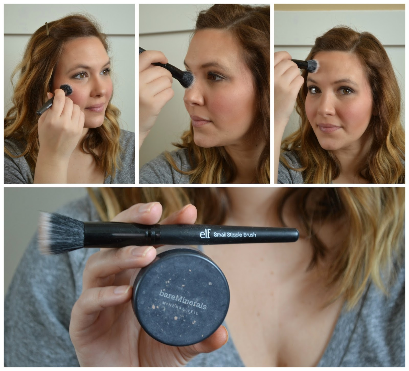 I Use Bare Minerals Blush In Laughter Just Like The Contour Powder, I  Don't Blend Yet
