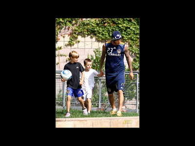 david-beckham-family-2012-football