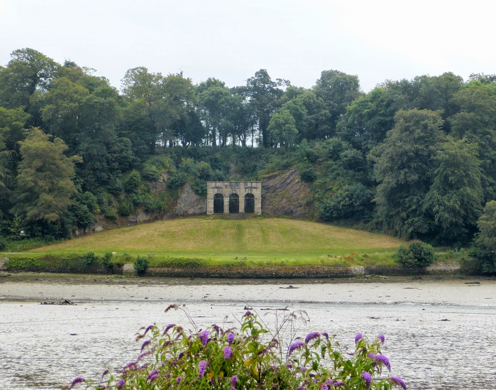 The Amphitheatre, Saltram, from across the river