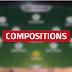 Pronostic Foot : Compositions des équipes