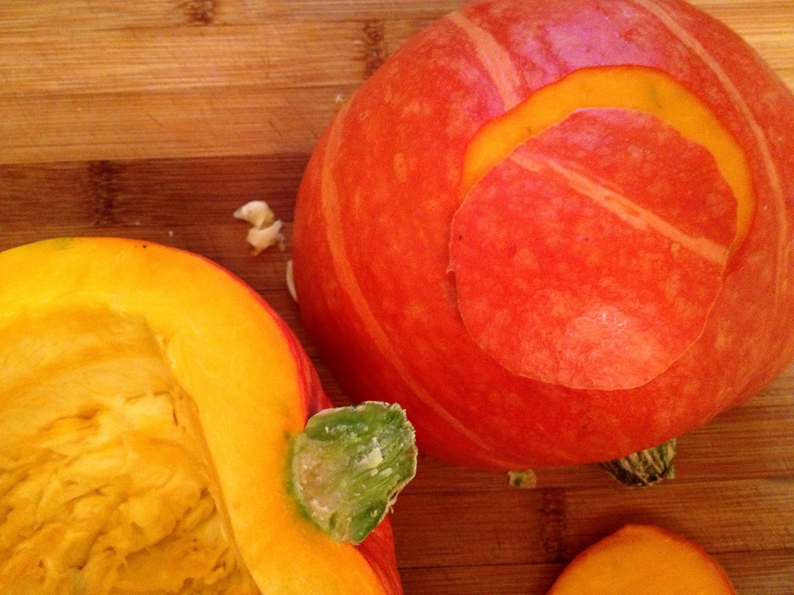 Tate's Kitchen: easiest Ambercup Squash dish ever
