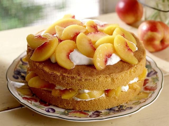 Torta Mimosa alle Pesche - Ricetta