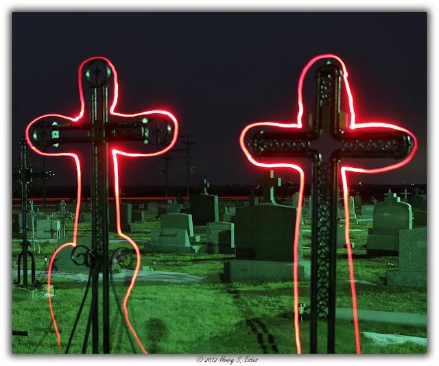 Neon Crosses