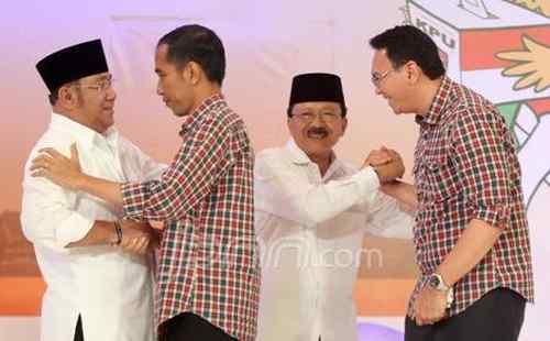 Prediksi Perolehan Suara Jokowi dan Foke
