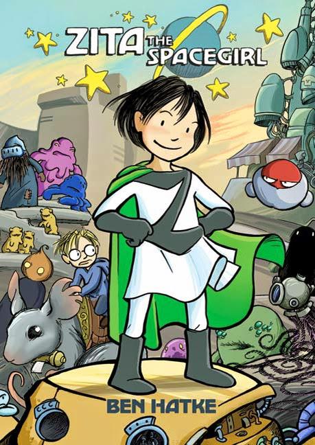 zita the spacegirl by ben hatke book cover
