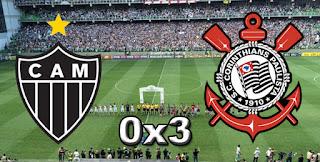 Atlético MG 0x3 Corinthians