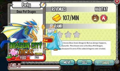 Dragão Mascote de Deus / Dragão de Estimação de Deux